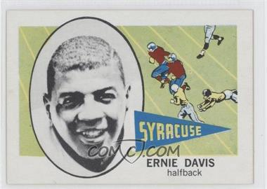 1961 Nu-Cards Football Stars #143 - Ernie Danjean