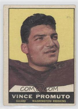 1961 Topps - [Base] #128 - Vince Promuto [Good to VG‑EX]