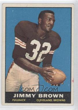 1961 Topps - [Base] #71 - Jim Brown