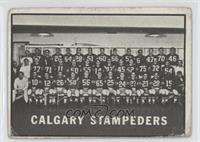 Calgary Stampeders (CFL) Team [Poor to Fair]