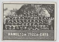 Hamilton Tiger-Cats Team [Good to VG‑EX]
