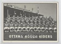 Ottawa Rough Riders (CFL) Team [Good to VG‑EX]