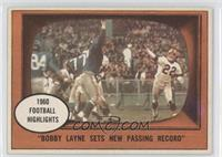 Bobby Layne Sets a New Passing Record [Good to VG‑EX]