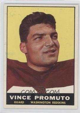 1961 Topps #128 - Vince Promuto