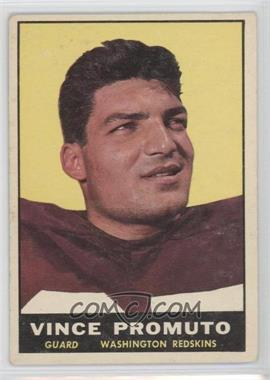 1961 Topps #128 - Vince Promuto [Good to VG‑EX]