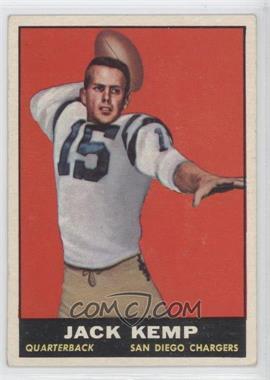 1961 Topps #166 - Jack Kemp