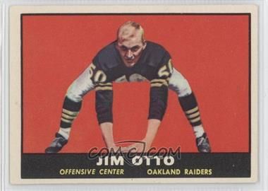 1961 Topps #182 - Jim Otto [Good to VG‑EX]