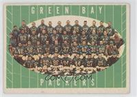 Green Bay Packers Team [Poor to Fair]