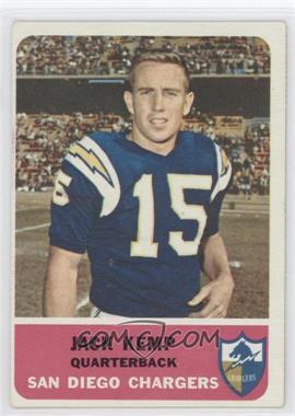 1962 Fleer - [Base] #79 - Jack Kemp