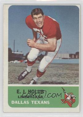 1962 Fleer #30 - E.J. Holub