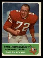 Paul Rochester [EX]