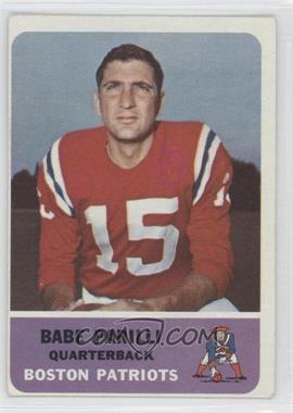 1962 Fleer #4 - Babe Parilli
