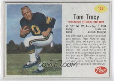 1962 Post - [Base] #133 - Tom Tracy