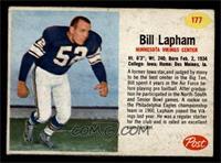 Bill Lapham [VGEX]