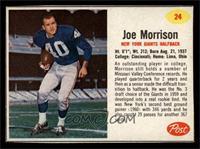 Joe Morrison [EXMT]