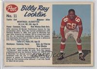 Billy Ray Locklin