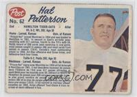 Hal Patterson (perforated) [Good to VG‑EX]