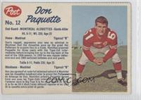 Don Paquette (hand-cut) [Good to VG‑EX]
