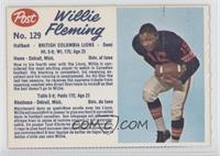 Willie Fleming (perforated) [Authentic]