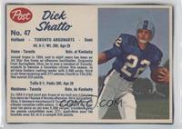 Dick Shatto (hand-cut)