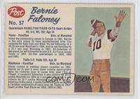 Bernie Faloney (perforated)