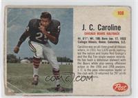 J.C. Caroline [Poor]