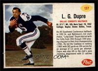 L.G. Dupre [EX]
