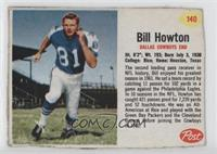 Billy Howton [Authentic]