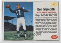 Don Meredith [Authentic]