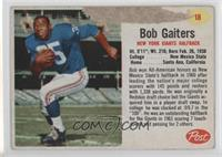 Bob Gaiters [Poor to Fair]