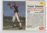 Francis Tarkenton [Good to VG‑EX]