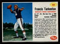 Francis Tarkenton [EXMT]
