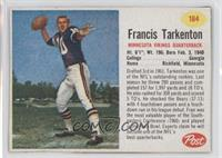 Francis Tarkenton [Authentic]