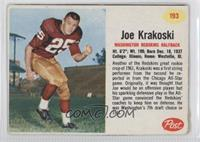 Joe Krakoski [Authentic]