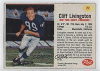Cliff Livingston [Authentic]