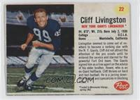 Cliff Livingston [Authentic]