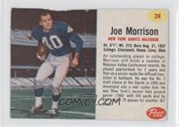 Joe Morrison [Authentic]