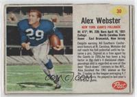 Alex Webster [Good to VG‑EX]