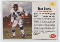 Dan Lewis [Good to VG‑EX]