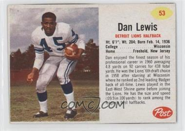 1962 Post #53 - Dan Lewis [Good to VG‑EX]