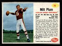 Milt Plum [EX]