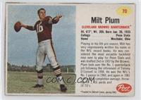 Milt Plum [Authentic]