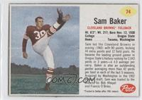 Sam Baker (Red Asterisk)