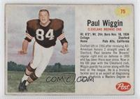 Paul Wiggin [Good to VG‑EX]