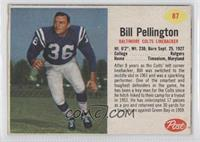 Bill Pellington [Good to VG‑EX]