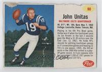 Johnny Unitas [Authentic]