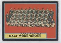 Baltimore Colts Team [Poor to Fair]
