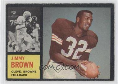 1962 Topps - [Base] #28 - Jim Brown [GoodtoVG‑EX]