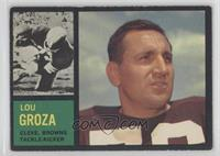 Lou Groza [Good to VG‑EX]