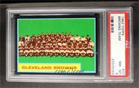 Cleveland Browns Team [PSA8]